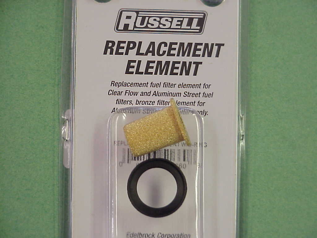 Blank Page Russell Fuel Filters Replacement Element And Seal For Above