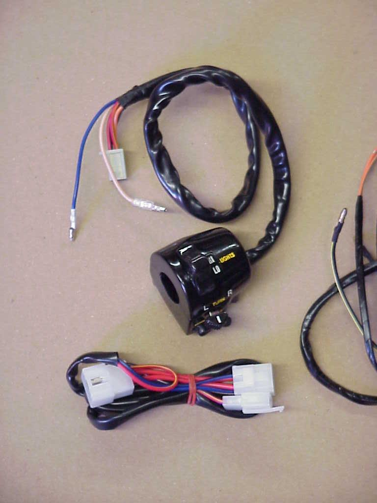 Blank Page 1980 Kz1000 Wiring Diagram Color Samples Of Our Modified Switches For The 1979 Models Prices Vary By Year Model