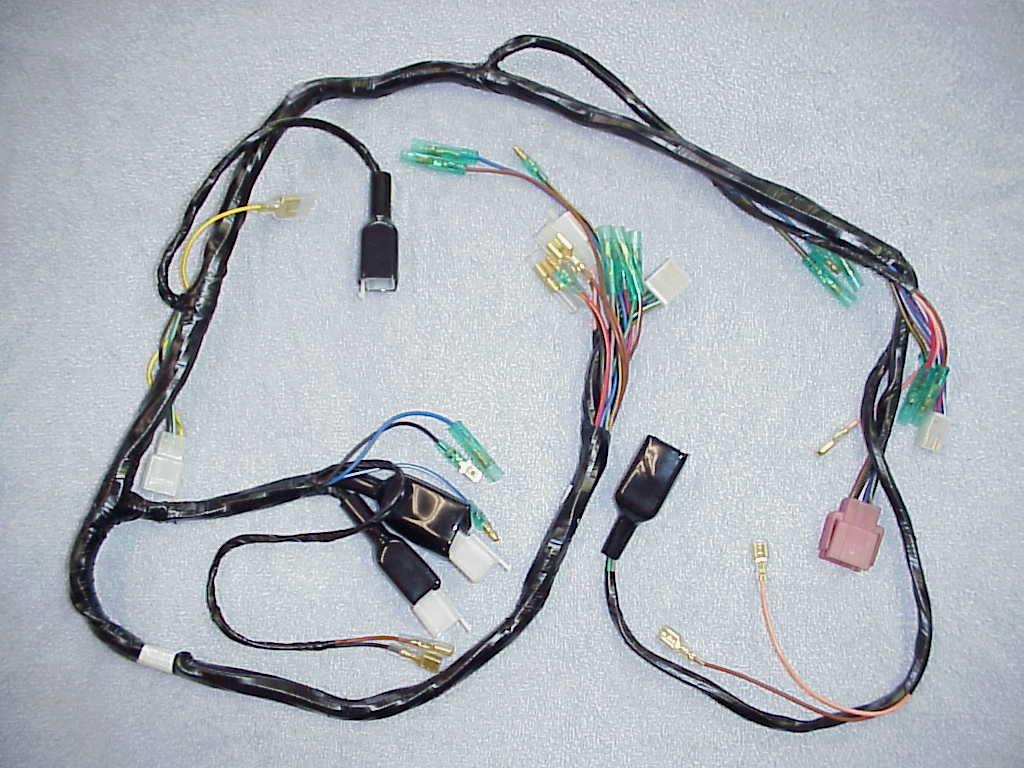blank page main wiring harness for all 1976 and 1977 kz900a models this harness can easily be adapted for use on the 1976 kz900b models